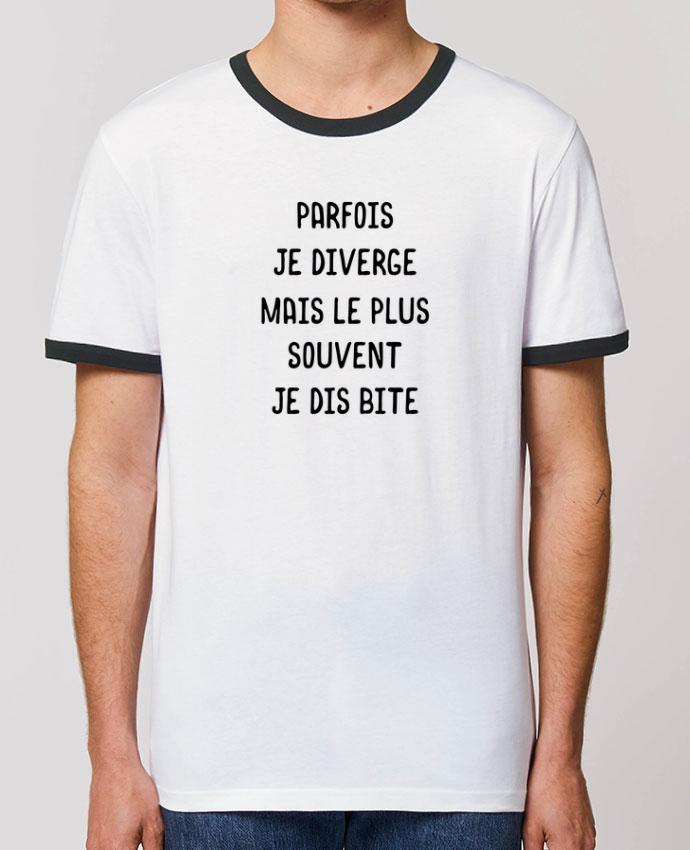 T-shirt Parfois je diverge cadeau parOriginal t-shirt