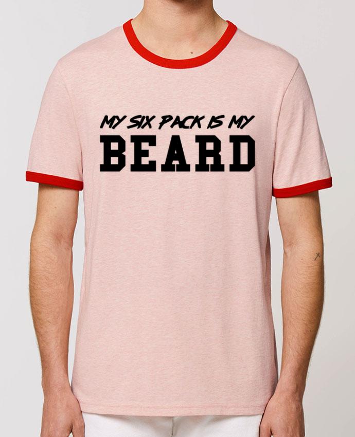 T-shirt My six pack is my beard partunetoo