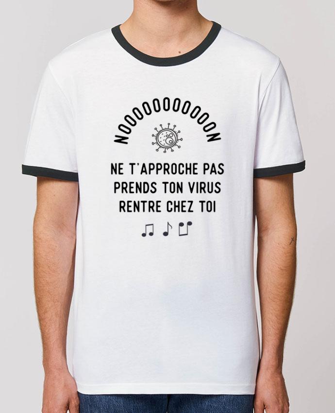 T-shirt Prends ton virus rentre chez toi humour corona virus parOriginal t-shirt
