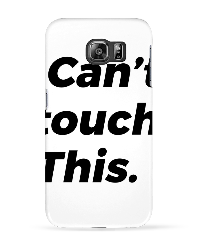 Coque 3D Samsung Galaxy S6 can