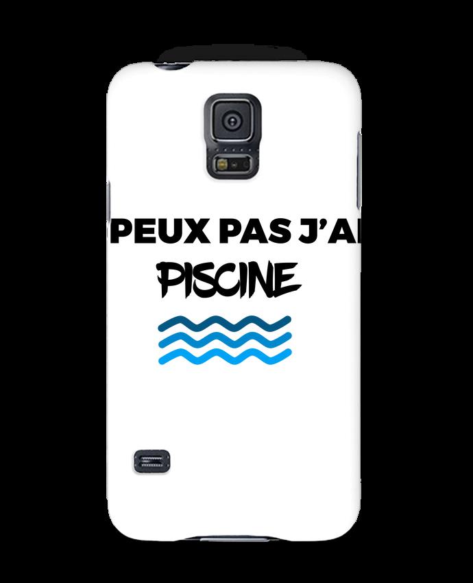 Coque 3D Samsung Galaxy S5 Je peux pas j'ai piscine par tunetoo