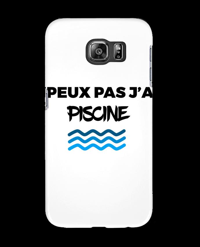 Coque 3D Samsung Galaxy S6 Je peux pas j'ai piscine - tunetoo