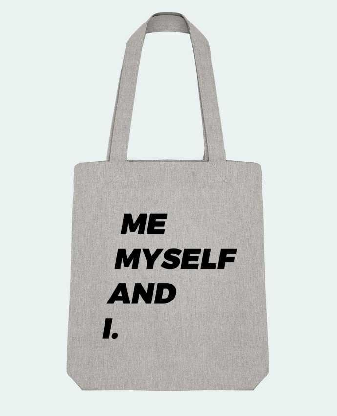 Tote Bag Stanley Stella me myself and i. par tunetoo