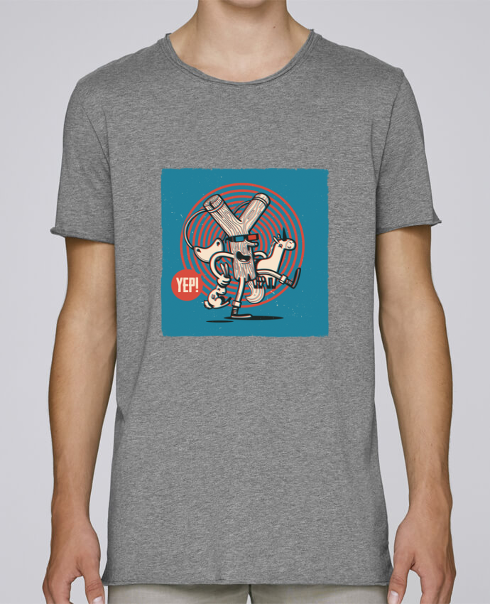 T-shirt Homme Oversized Stanley Skates YEP! Lance Pierre 3D par YEP!