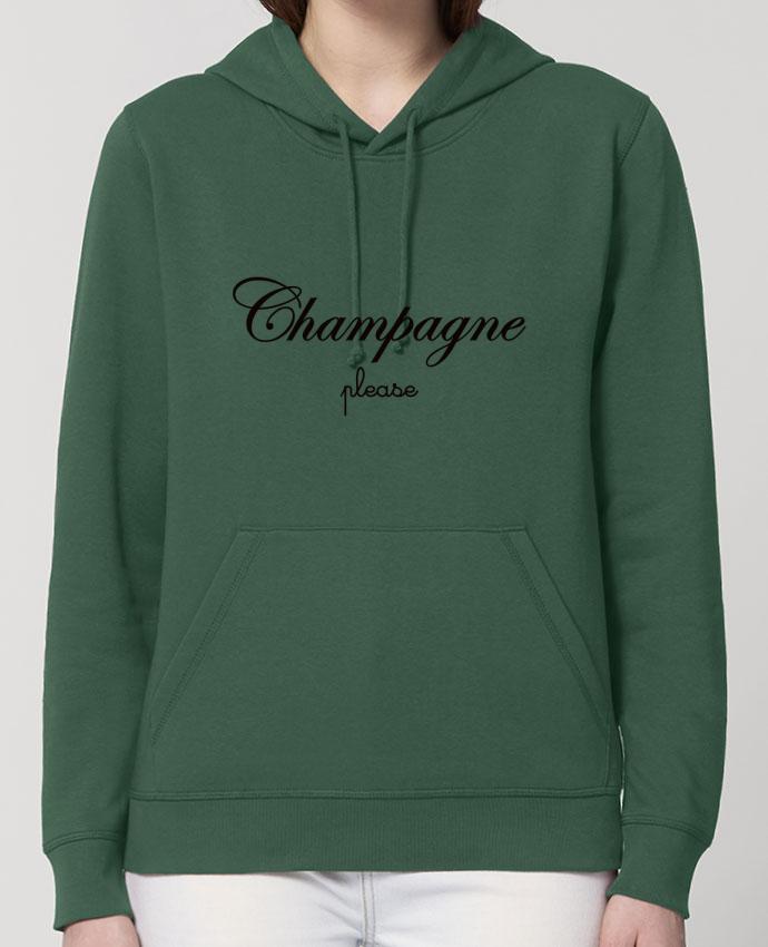 Hoodie Champagne Please Par Freeyourshirt.com