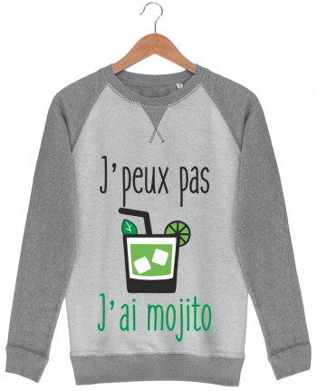 Sweat French Terry J'peux pas j'ai mojito par Benichan