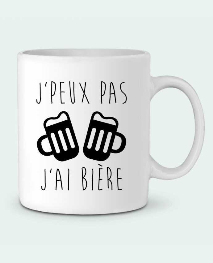 Mug en Céramique J'peux pas j'ai bière par Benichan