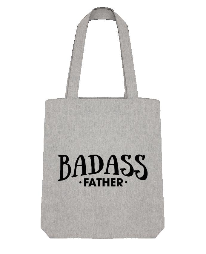 Tote Bag Stanley Stella Badass Father par tunetoo