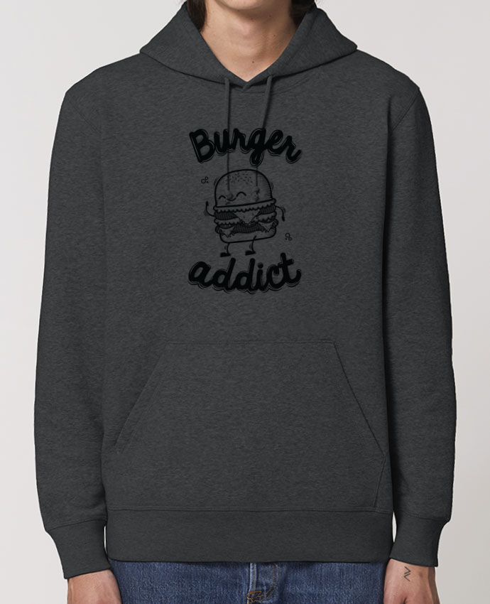 Hoodie BURGER ADDICT Par PTIT MYTHO