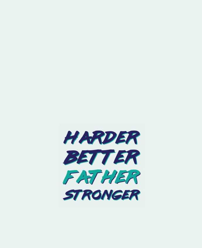 Sac en Toile Coton Harder Better Father Stronger par tunetoo