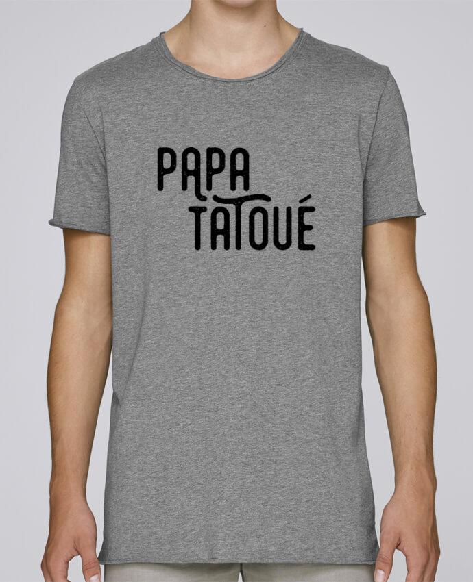 T-shirt Homme Oversized Stanley Skates Papa Tatoué par tunetoo