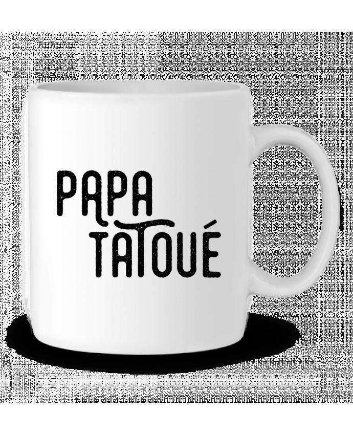 Mug en Céramique Papa Tatoué par tunetoo
