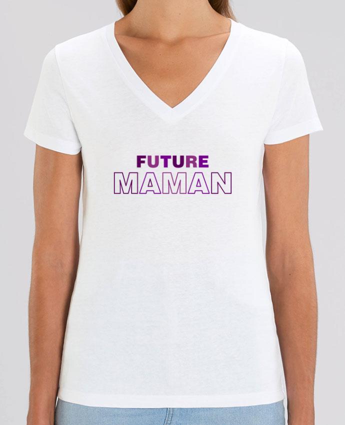 Tee-shirt femme Future Maman Par  tunetoo