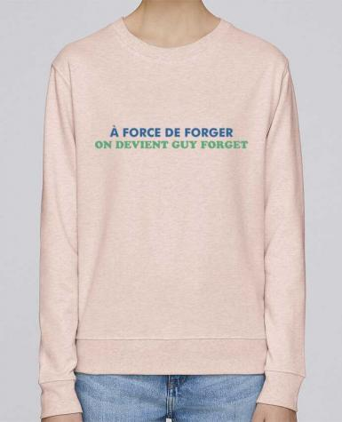 Sweat Col rond Femme Stella Hides A force de forger par tunetoo