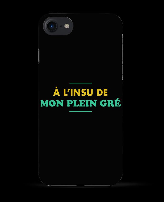Coque 3D Iphone 7 A l'insu de mon plein gré de tunetoo