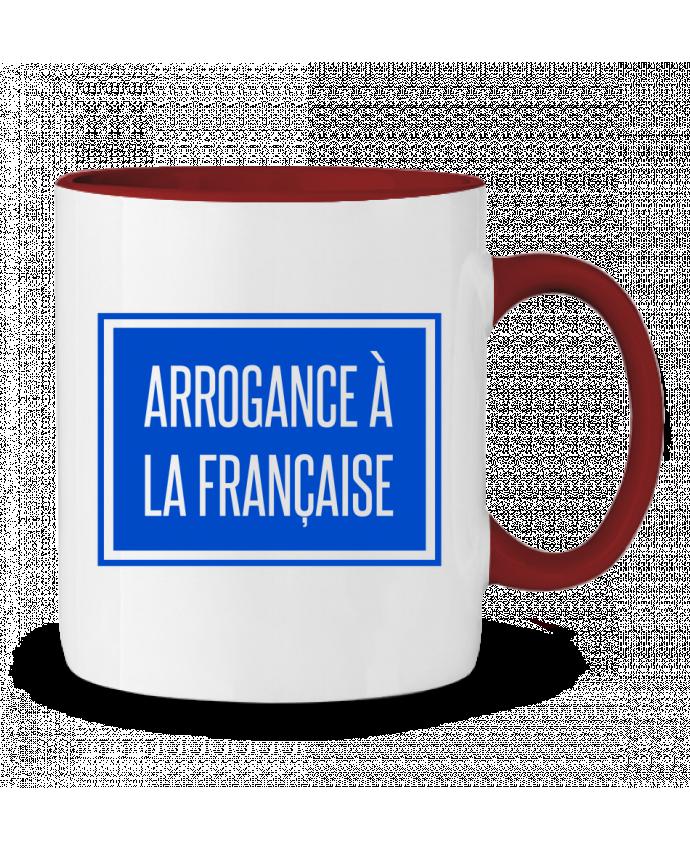 Mug en Céramique Bicolore Arrogance à la française tunetoo