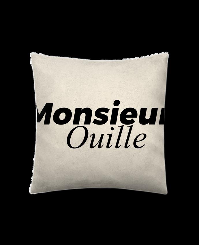 Coussin Toucher Peau de Pêche 41 x 41 cm Monsieur Ouille par tunetoo