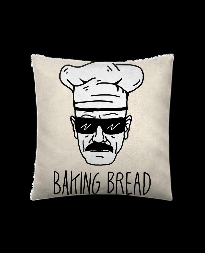 Coussin Toucher Peau de Pêche 41 x 41 cm Baking bread par Nick cocozza