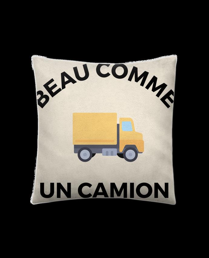 Coussin Toucher Peau de Pêche 41 x 41 cm Beau comme un camion par Ruuud
