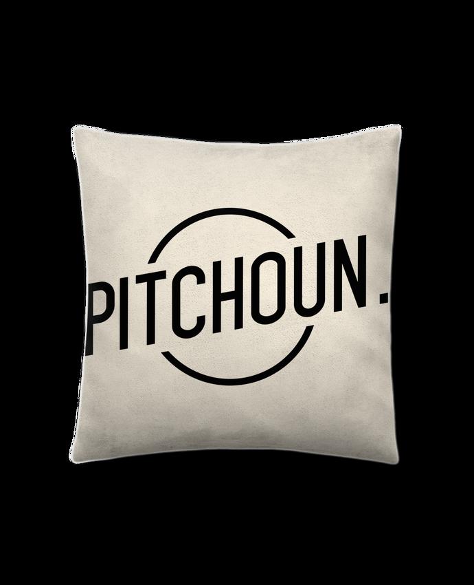 Coussin Toucher Peau de Pêche 41 x 41 cm Pitchoun par tunetoo