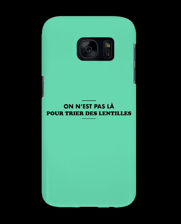 Coque 3D Samsung Galaxy S7 On n'est pas là pour tirer les lentilles par tunetoo