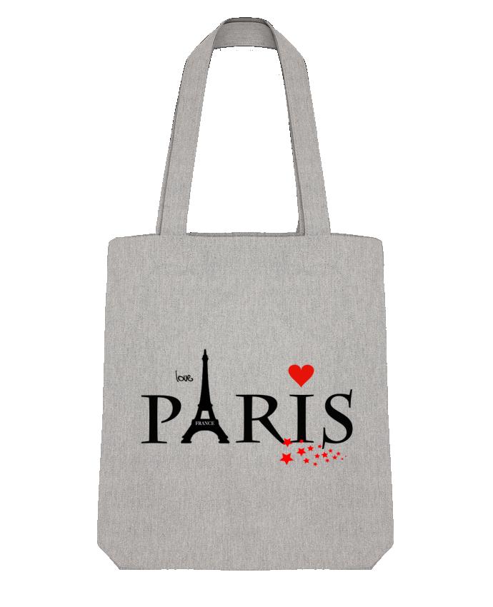Tote Bag Stanley Stella Paris love par Dream Design