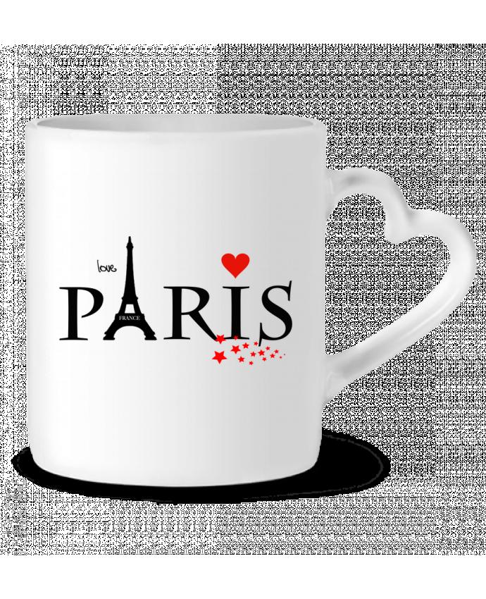 Mug Coeur Paris love par Dream Design