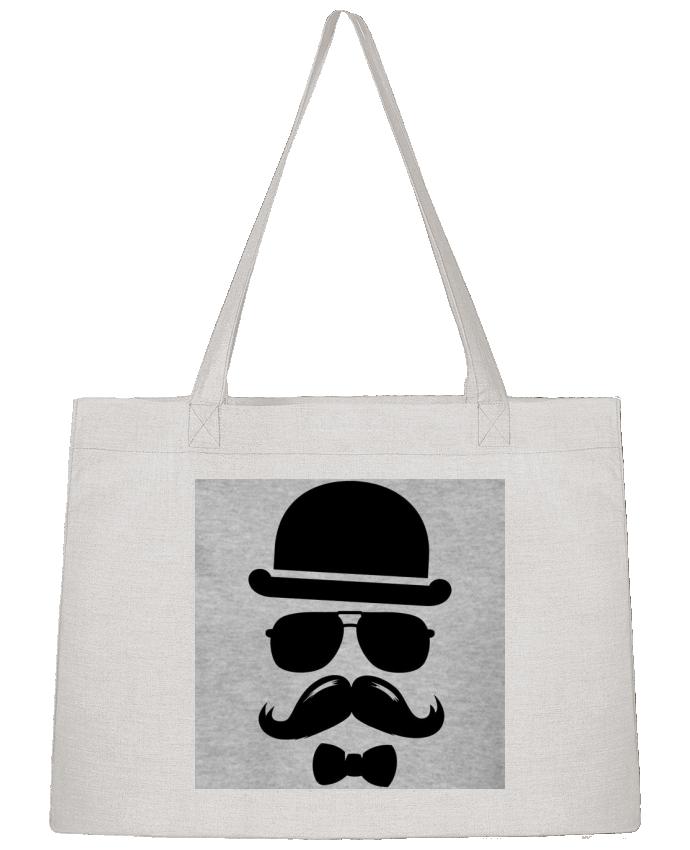 Sac Cabas Shopping Stanley Stella Vetement moustache swag par mateo