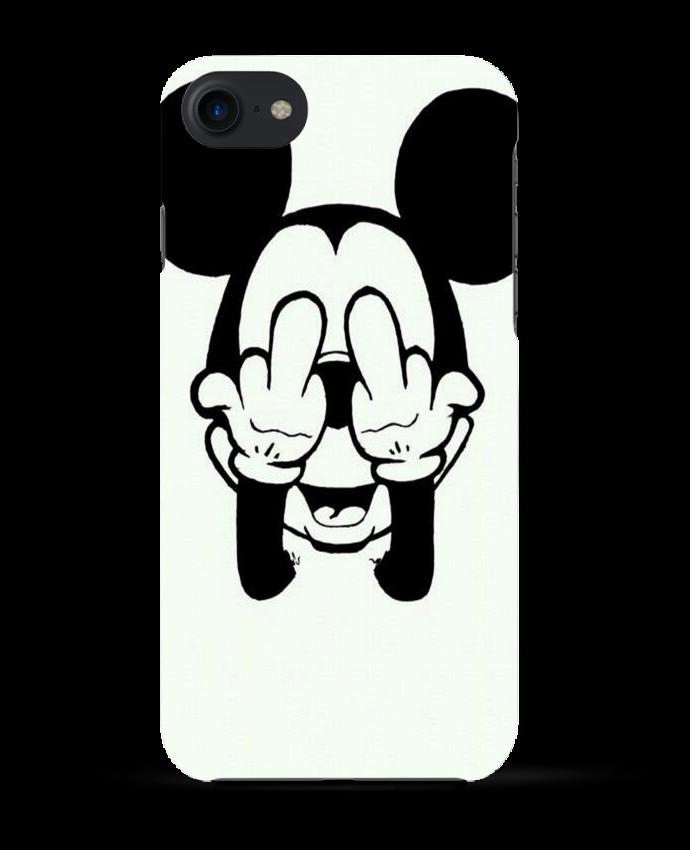 Coque 3D Iphone 7 Vetement mickey doigt d'honneur de mateo
