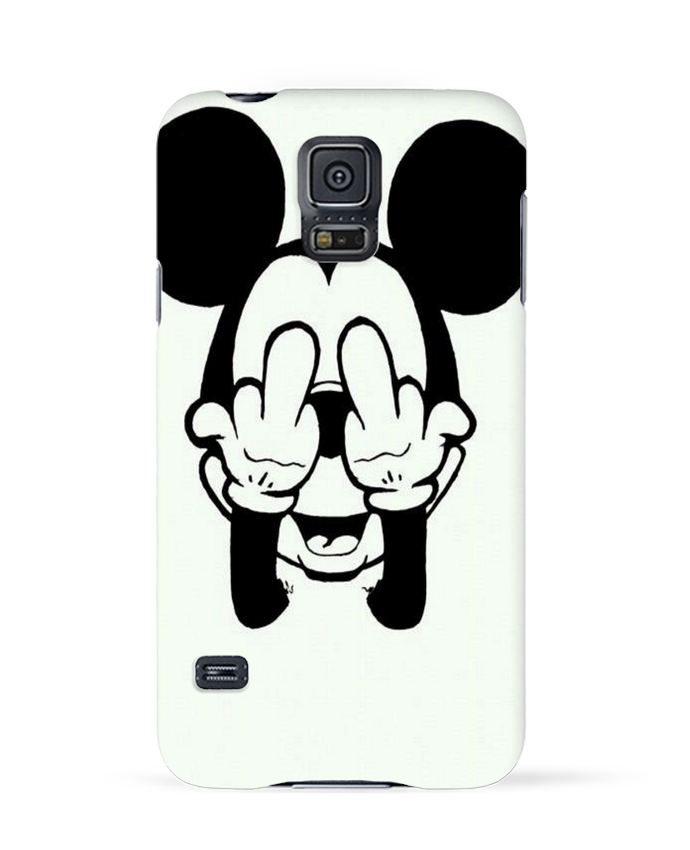Coque 3D Samsung Galaxy S5 Vetement mickey doigt d