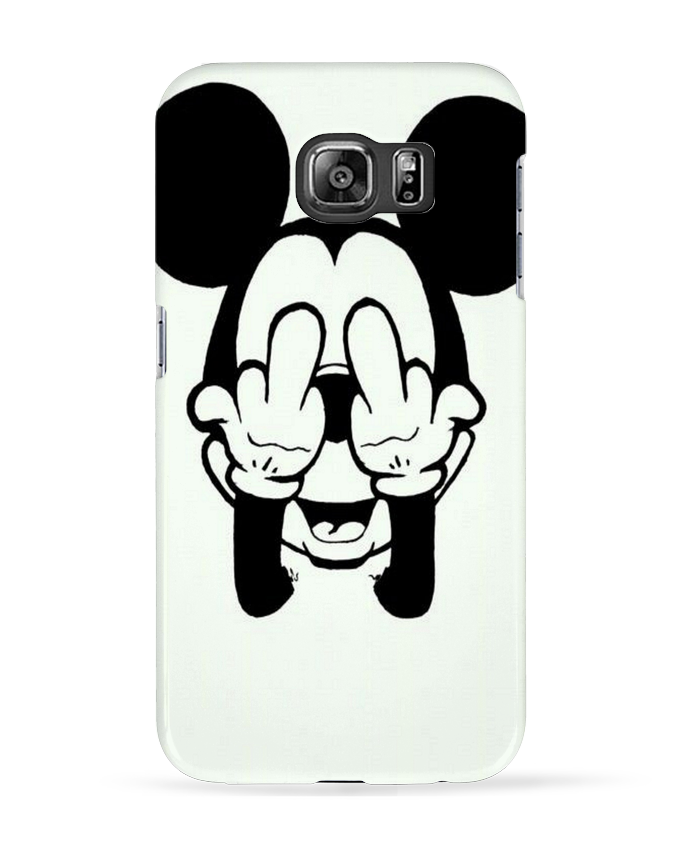 Coque 3D Samsung Galaxy S6 Vetement mickey doigt d