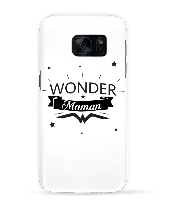 Coque 3D Samsung Galaxy S7  Wonder Maman par IDÉ'IN
