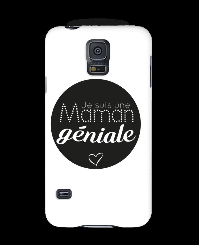 Coque 3D Samsung Galaxy S5 Maman géniale par IDÉ'IN