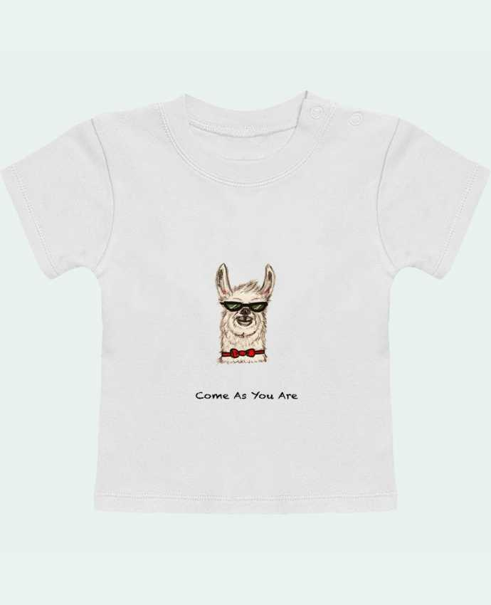 T-Shirt Bébé Manches Courtes COME AS YOU ARE manches courtes du designer La Paloma