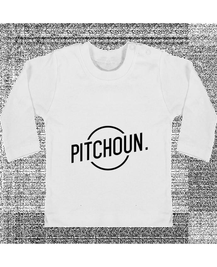 T-shirt Bébé Manches Longues Boutons Pression Pitchoun manches longues du designer tunetoo