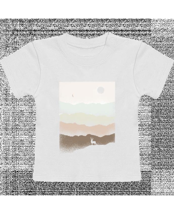 T-Shirt Bébé Manches Courtes Quietude manches courtes du designer Florent Bodart