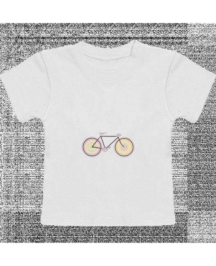 T-Shirt Bébé Manches Courtes Velocolor manches courtes du designer Florent Bodart