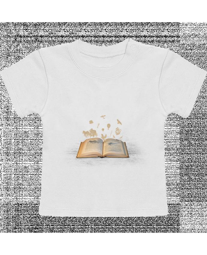 T-Shirt Bébé Manches Courtes Words take flight manches courtes du designer Florent Bodart