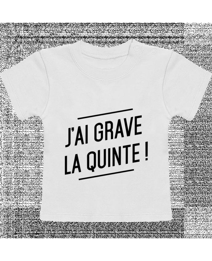T-Shirt Bébé Manches Courtes La quinte ! manches courtes du designer tunetoo
