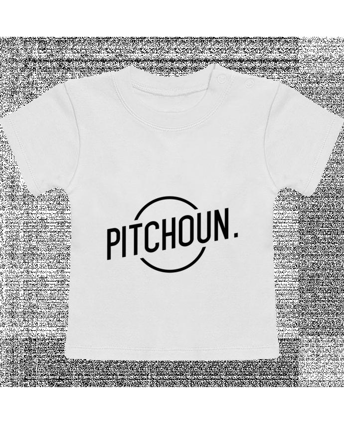 T-Shirt Bébé Manches Courtes Pitchoun manches courtes du designer tunetoo