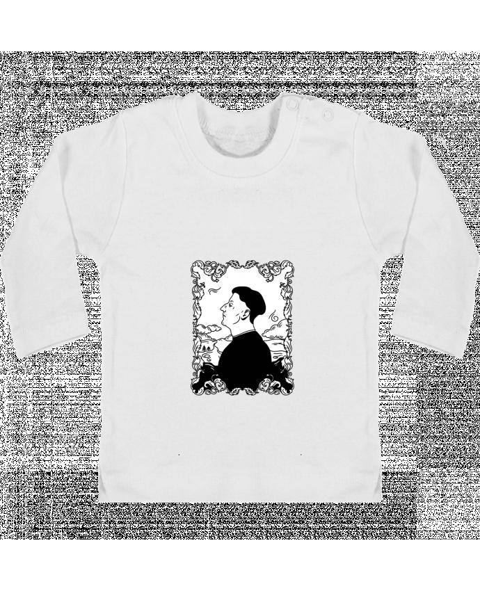T-shirt Bébé Manches Longues Boutons Pression Godefroy de montmirail manches longues du designer tattooanshort
