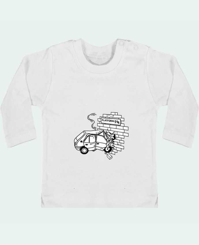 T-shirt Bébé Manches Longues Boutons Pression 205 manches longues du designer tattooanshort