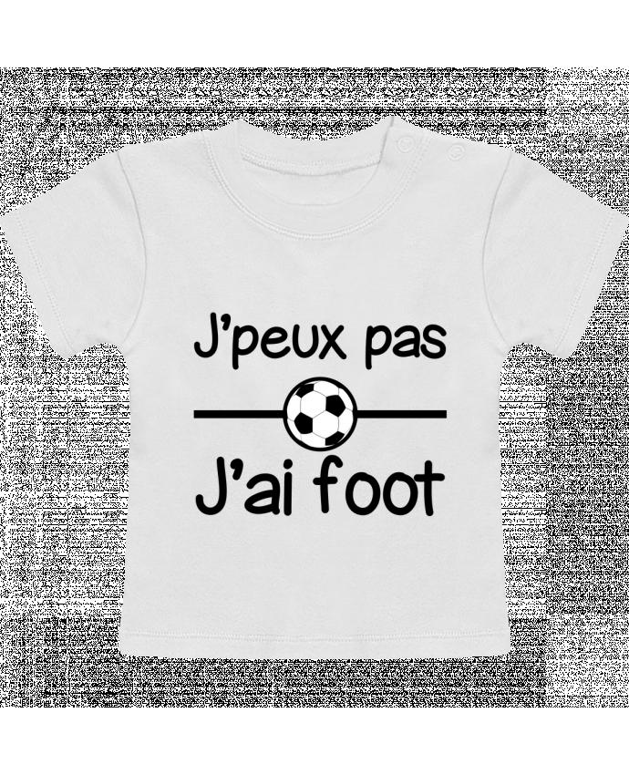 T-Shirt Bébé Manches Courtes J'peux pas j'ai foot , football manches courtes du designer Benichan