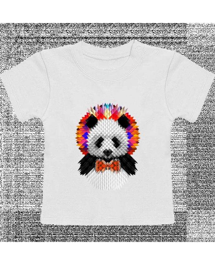 T-Shirt Bébé Manches Courtes Panda manches courtes du designer ali_gulec