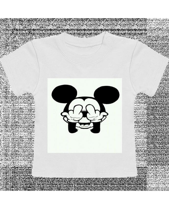 T-Shirt Bébé Manches Courtes Vetement mickey doigt d'honneur manches courtes du designer Designer_TUNETOO