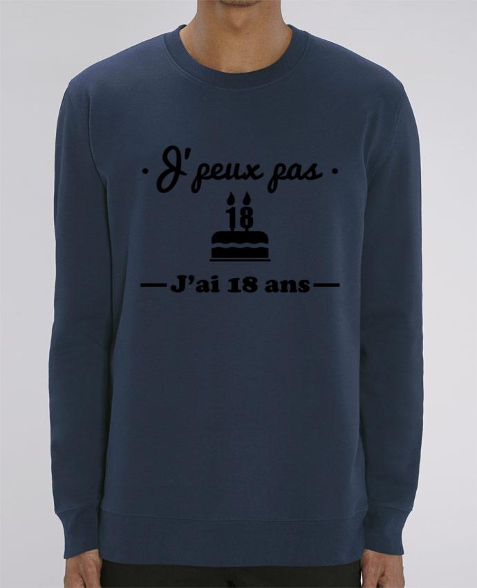 Sweat-shirt J'peux pas j'ai 18 ans, cadeau d'anniversaire Par Benichan