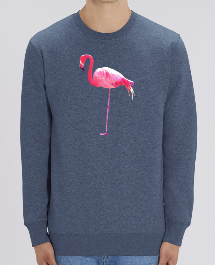 Sweat-shirt Flamant rose Par justsayin