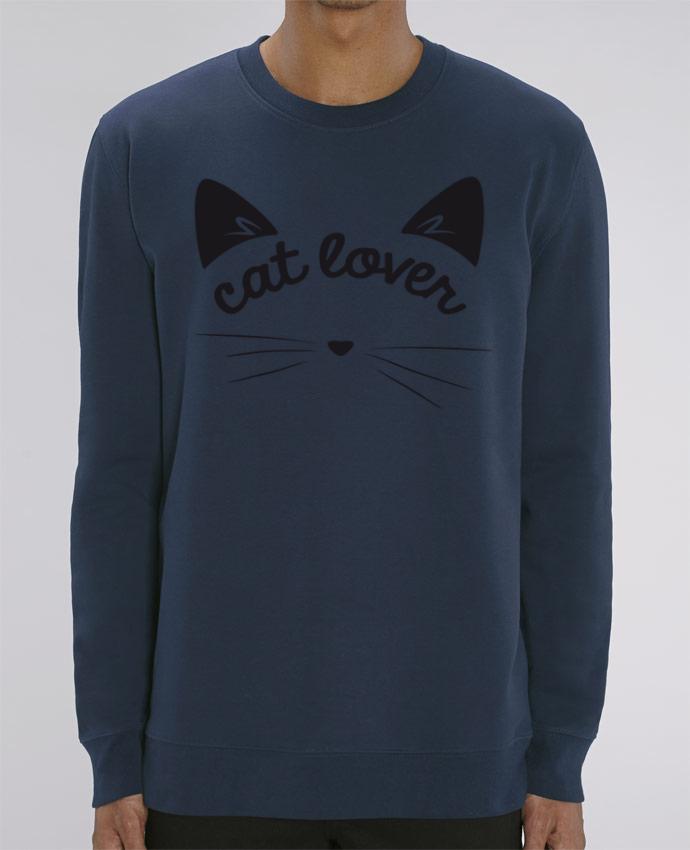 Sweat-shirt Cat lover Par FRENCHUP-MAYO