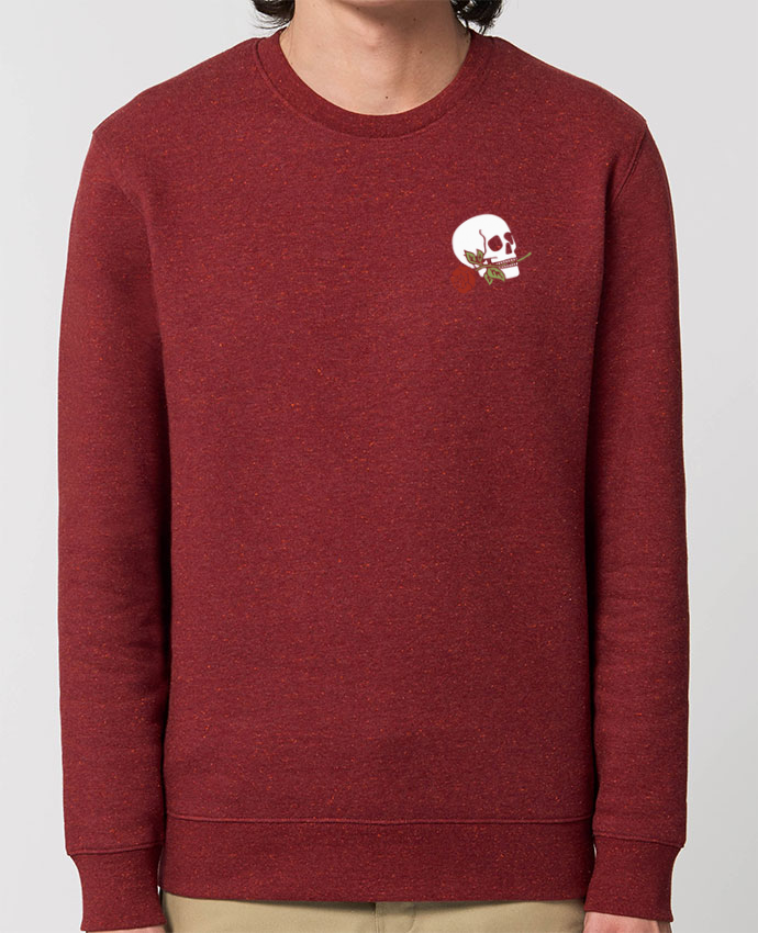 Sweat-shirt Skull flower Par Ruuud
