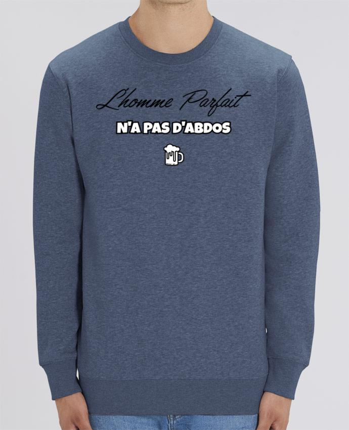 Sweat-shirt L'homme parfait n'as pas d'abdos Par tunetoo